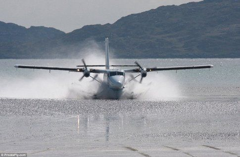 Barra Airport in Scozia - Fonte: DailyMail