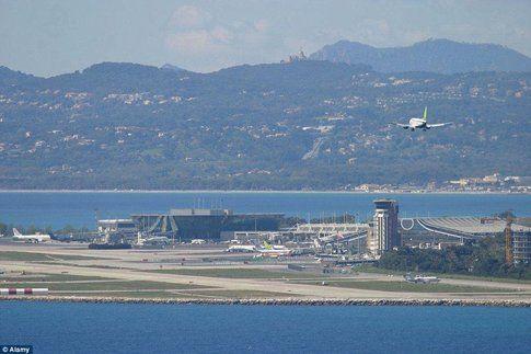 Aeroporto di Nizza - Fonte: DailyMail