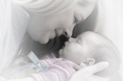 Neonato con la mamma