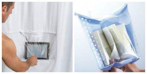 Copertina impermeabile per libro e iPad