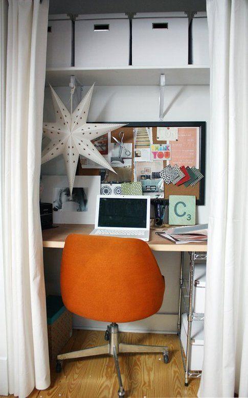 Ufficio in casa. Foto apartmenttherapy.com