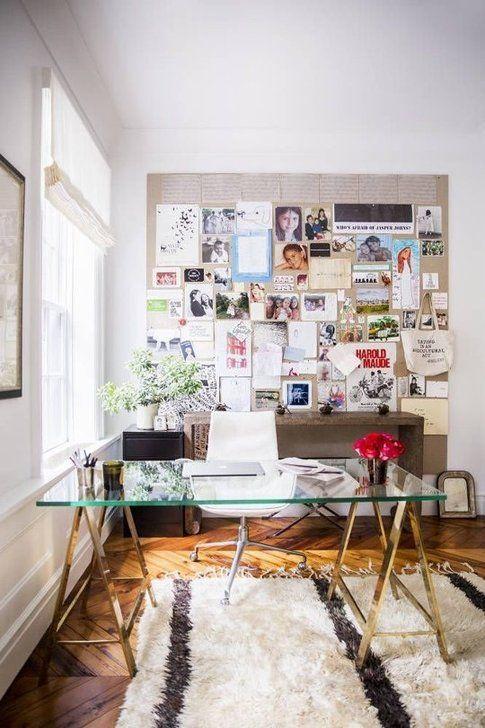 Ufficio in casa. Foto Domino