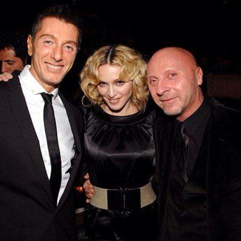 Madonna con Dolce&Gabbana - Fonte: Facebook