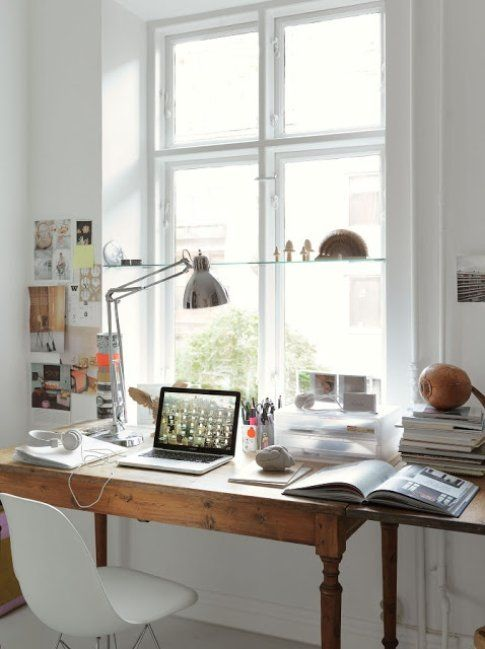 Ufficio in casa. Foto digsdigs.com