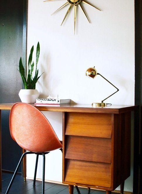 Ufficio in casa. Foto modernthrifter.com