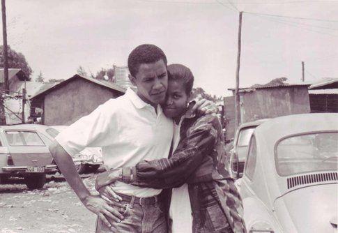 Michelle Obama e Barack fidanzati - Fonte: Facebook