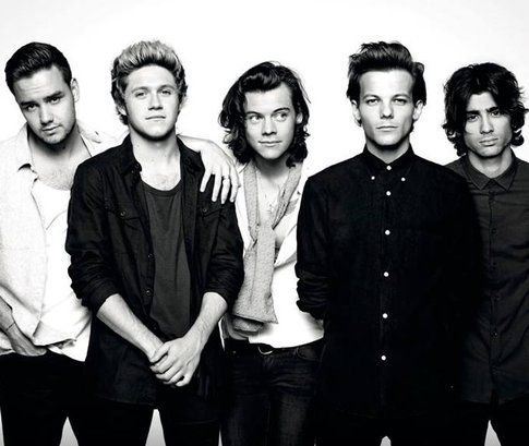 One Direction - Fonte: Facebook