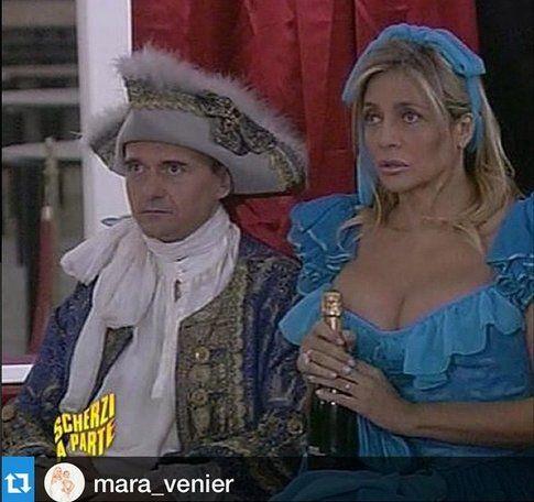 Alfonso Signorini e Mara Venier - Fonte: Instagram