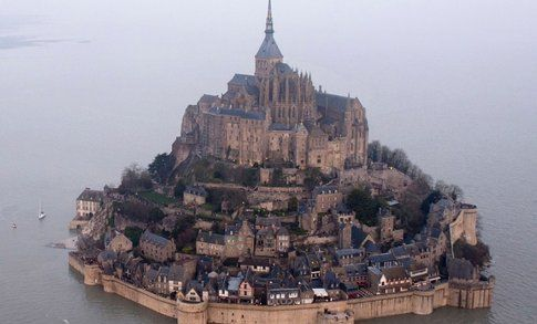 Mont Saint-Michel isola - Fonte: Cnn
