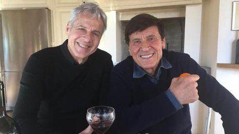 Claudio Baglioni e Gianni Morandi - Fonte: Twitter