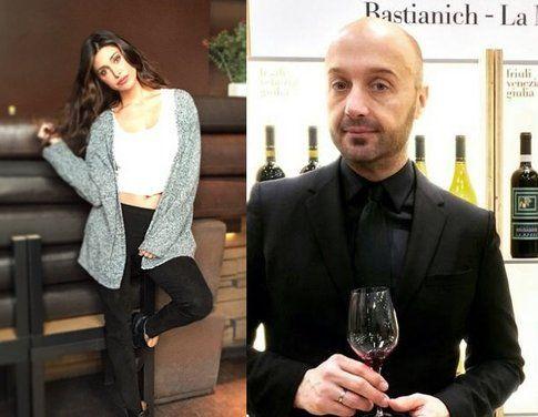 Belen Rodriguez e Joe Bastianich