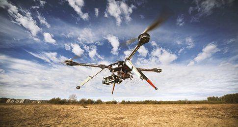 Drone contro la siccità