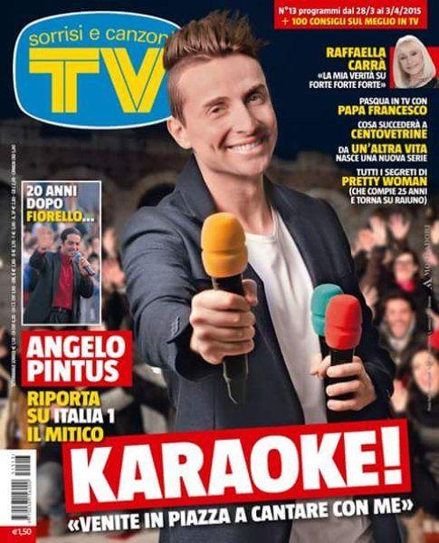 Il Karaoke con Angelo Pintus - Fonte: Twitter