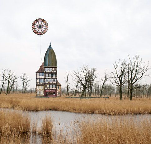 Case surreali di Mathias Jung - Fonte: Trendland