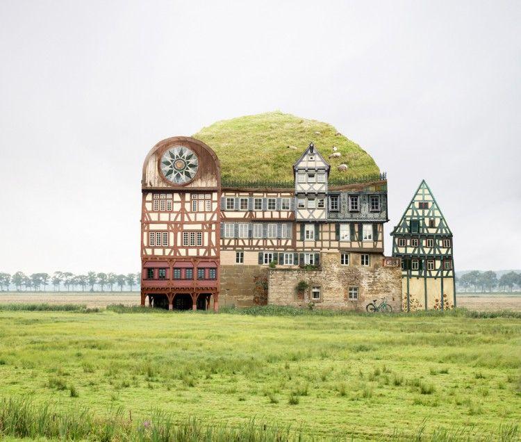 Le case surreali di Matthias Jung