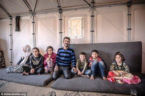 Case Ikea per i rifugiati ONU - Fonte: DailyMail