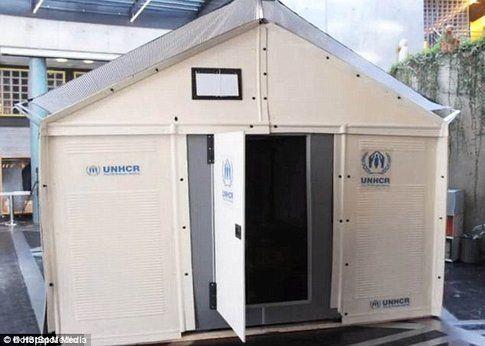 Case Ikea per i rifugiati - Fonte: DailyMail