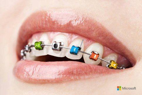 Apparecchio per i denti Microsoft