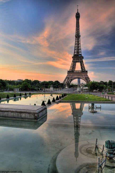 Tour Eiffel a Parigi- Fonte: Pinterest