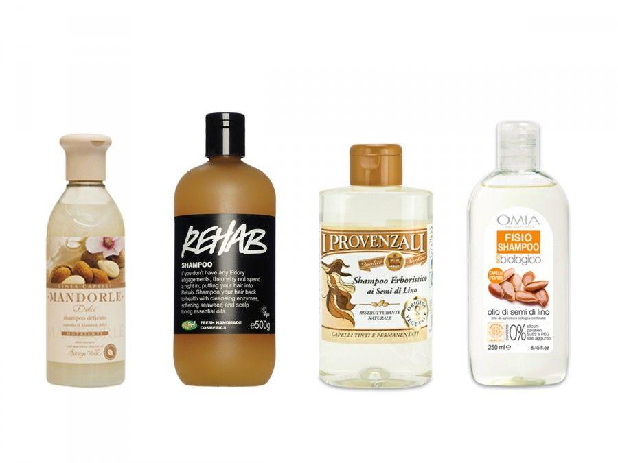 Shampoo e balsami a base di olio di mandorle e semi di lino e838a6951e0a