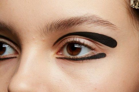 Make-up occhi artistico