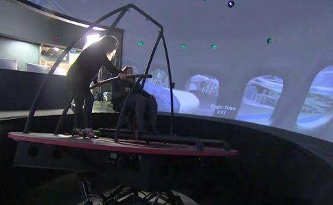 Realtà virtuale contro la paura di volare - Fonte: Ansa