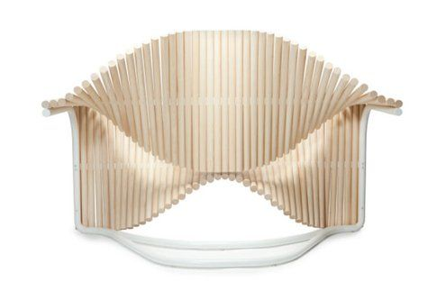 Sedia per Paulo Coelho, struttura - Fonte: DesignMilk