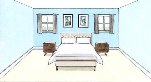 Design camera da letto - Fonte: DailyMail