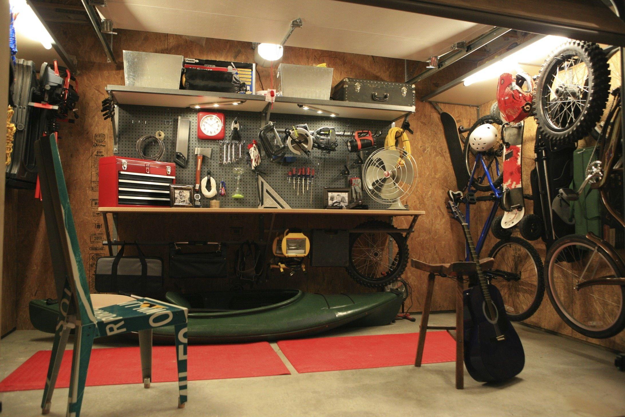Idee Garage Fai Da Te come organizzare il garage con 5 idee fai da te   bigodino