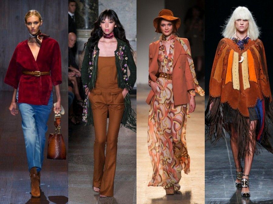 Look Seventies in passerella : Gucci, Pucci, Paul e Joe e Marani
