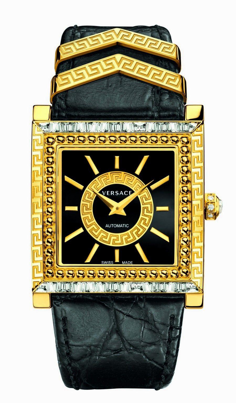DV 25: l'orologio Versace per festeggiare i 25 anni nel mondo Watches di Donatella Versace
