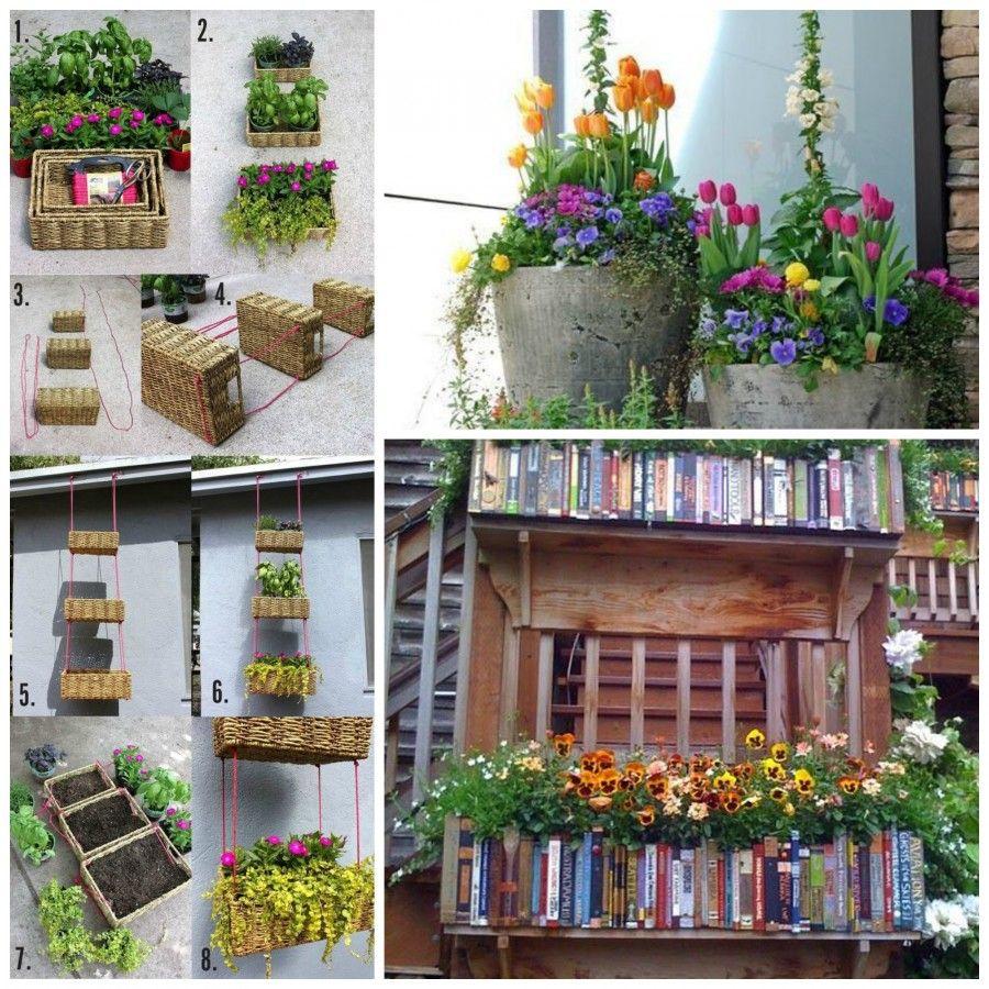 Fioriere da balcone come valorizzare piante e fiori in for Fiori ornamentali da esterno