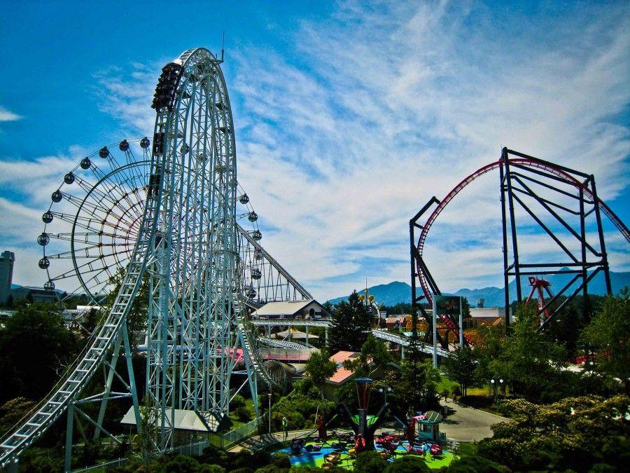 Fuji-Q-Highland-Roller-Coaster