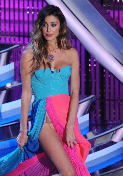 Argentinian model Belen Rodriguez is see