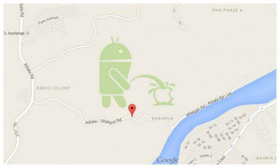 Google contro Apple su Maps