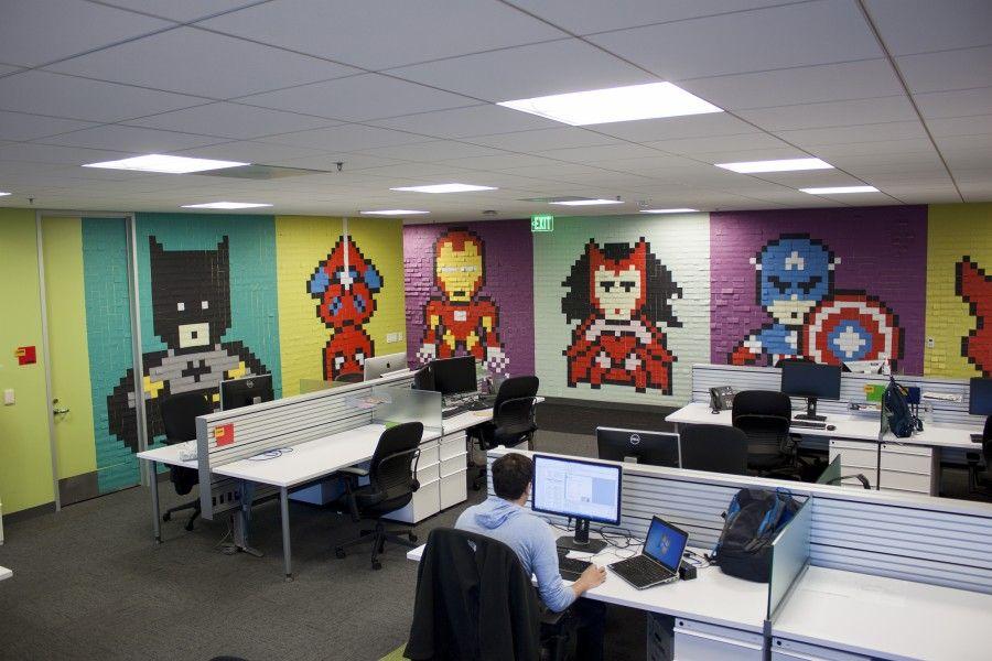 il nuovo ufficio