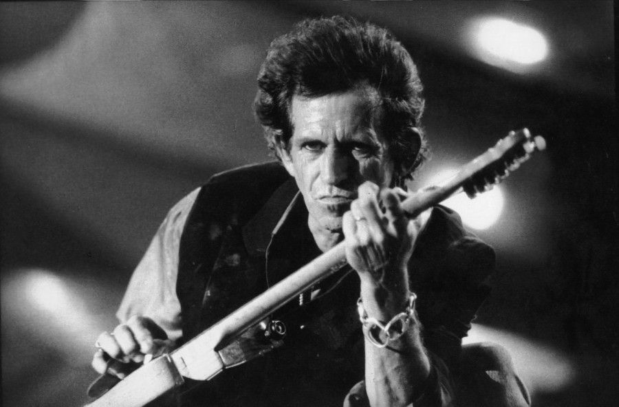 Keith Richards autore di Satisfaction