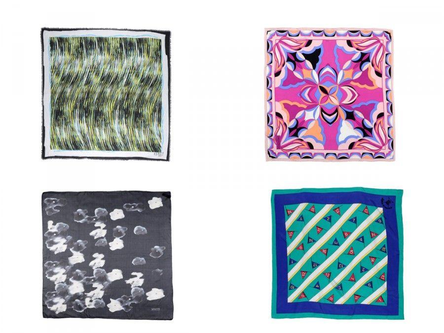 set foulard