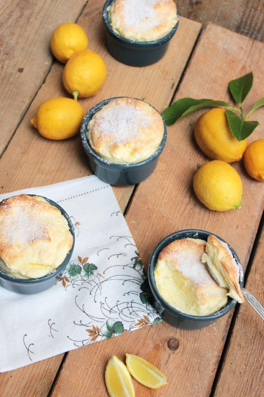 Soufflè al limone