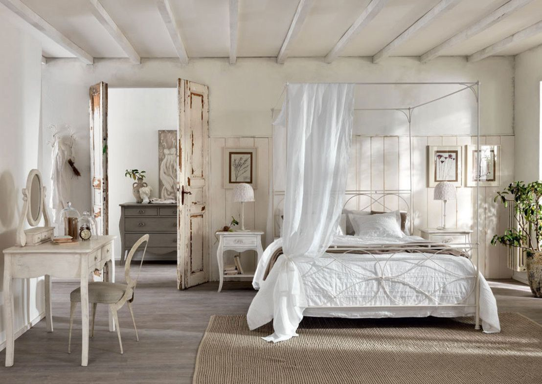 5 must have per rendere shabby la tua camera da letto