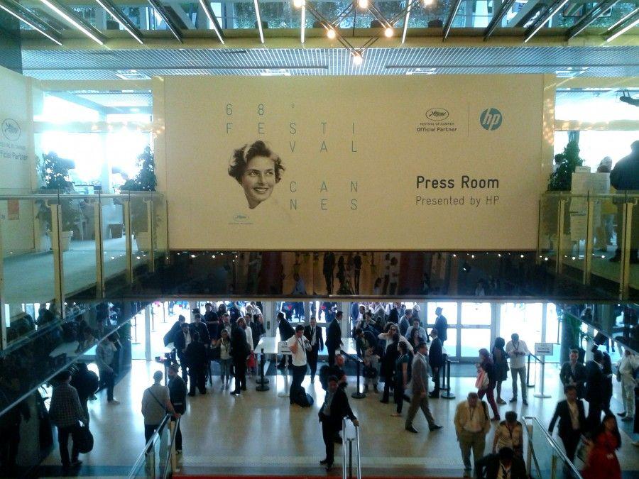 Le Palais du Festival de Cannes