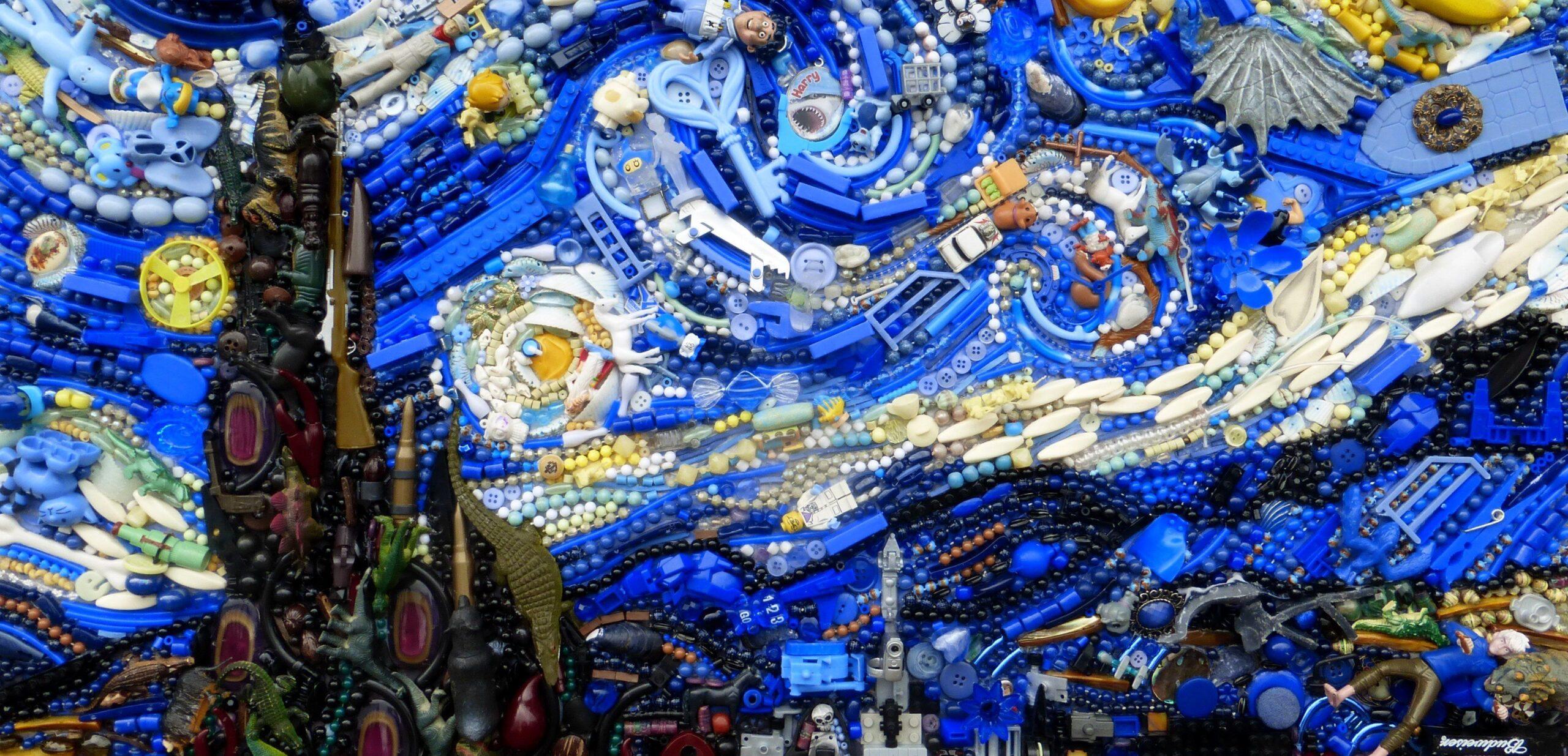 Jane Perkins e le opere d'arte nate dal riciclo