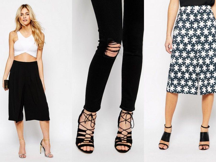 Sandali elegantissimi per rendere i pantaloni alla caviglia perfetti per le occasioni formali