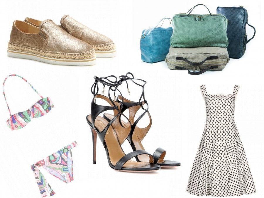 5 must have per quest'estate: espadrillas, borse in pelle, bikini floreali, sandali gladiator e abitini a pois