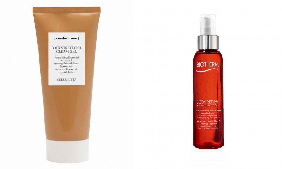 Comfort Zone Body Strategist, perfetto anche sotto la doccia, e il Body Refirm Anticellulite Oil sono perfetti per Rassodare