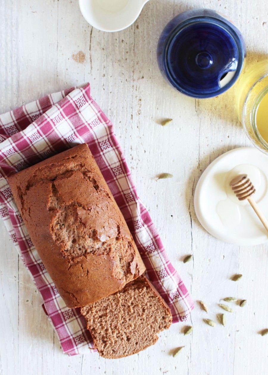 Plumcake miele e cardamomo Gluten free