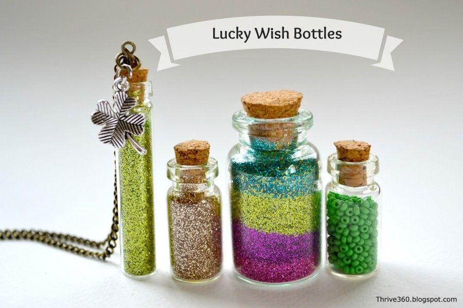 Lucky wish mini bottles