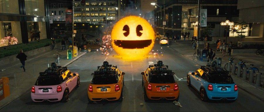 Pac-Man in Pixels