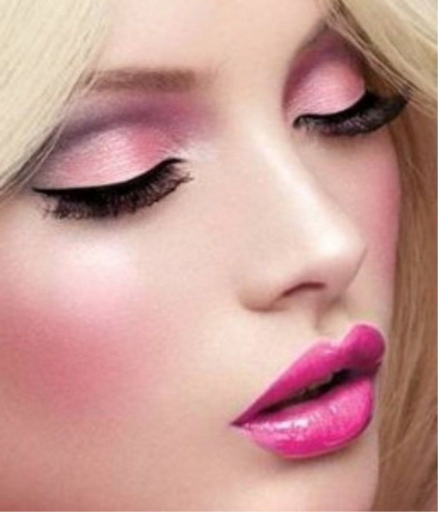 Stunded-Pink-Lips-Makeup-2015-for-Girls-and-Ladies-new8