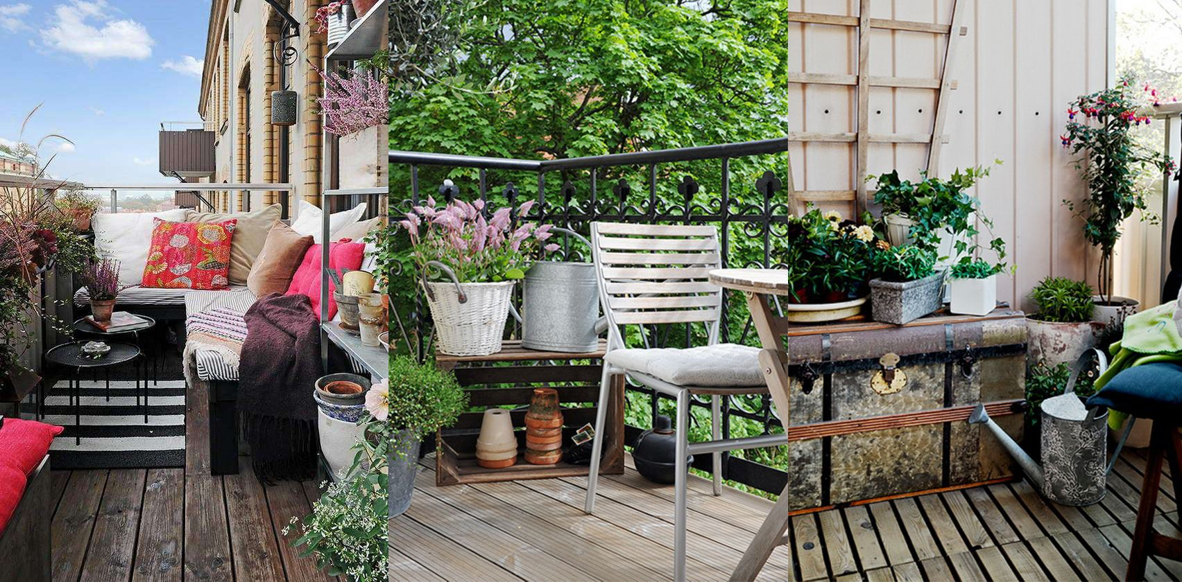 5 idee geniali per decorare il terrazzo bigodino - Decorare il terrazzo ...